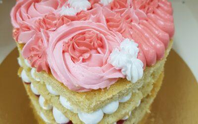 Heerlijke gezonde basis taart